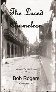 The Laced Chameleon Front Cover