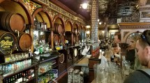 Crown Bar Belfast Ireland Bob' Beer