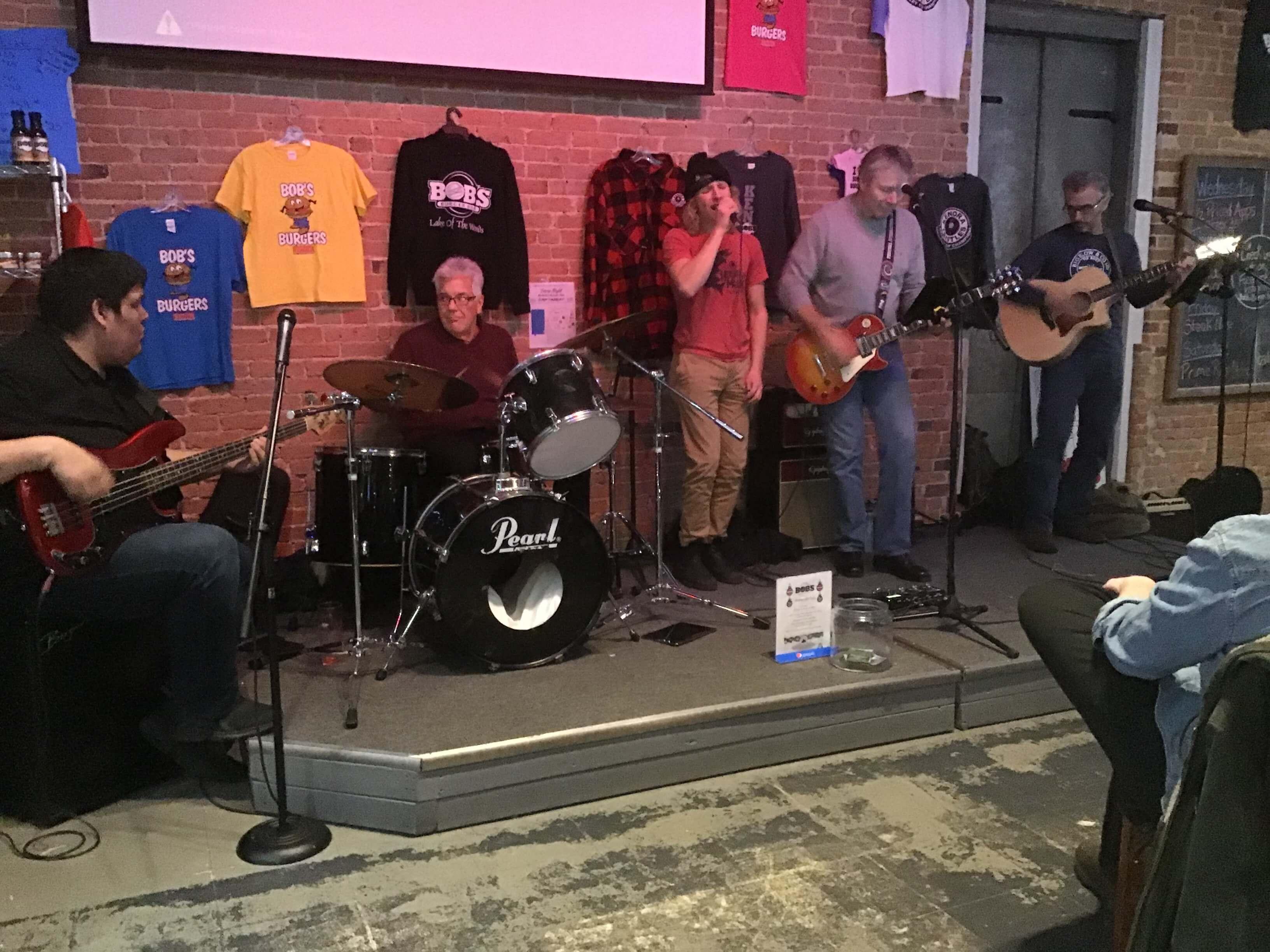 Live music at Bob's