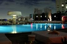 Mondrian South Beach Hotel Views at Night