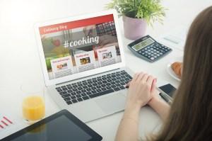 Culinary website blog            