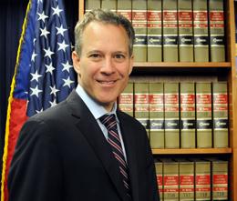 New York Attorney General Eric T. Schneiderman.
