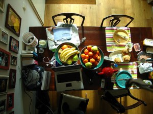 Image of a home office from Flickr user Fabio Bruna under a Creative Commons licence. Click for link.
