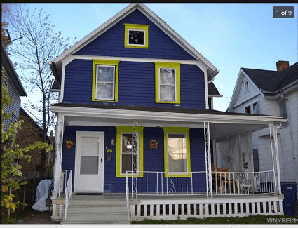 This Buffalo home is listed at $119,000, according to Zillow.com, below are median sales price of $129,0000