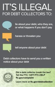 debt collector image