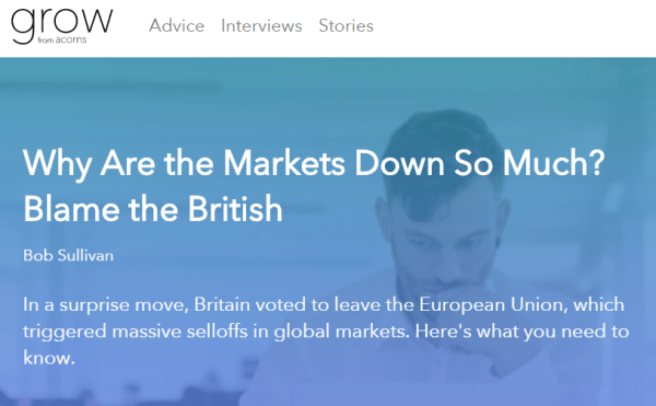 Click for my Brexit impact story at Grow