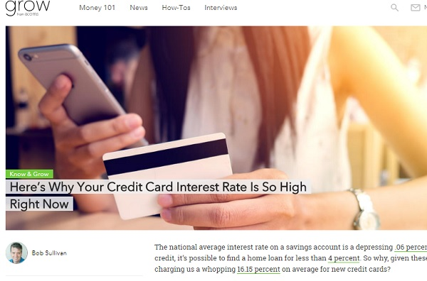 Why is my credit card interest rate so high? — bobsullivan net