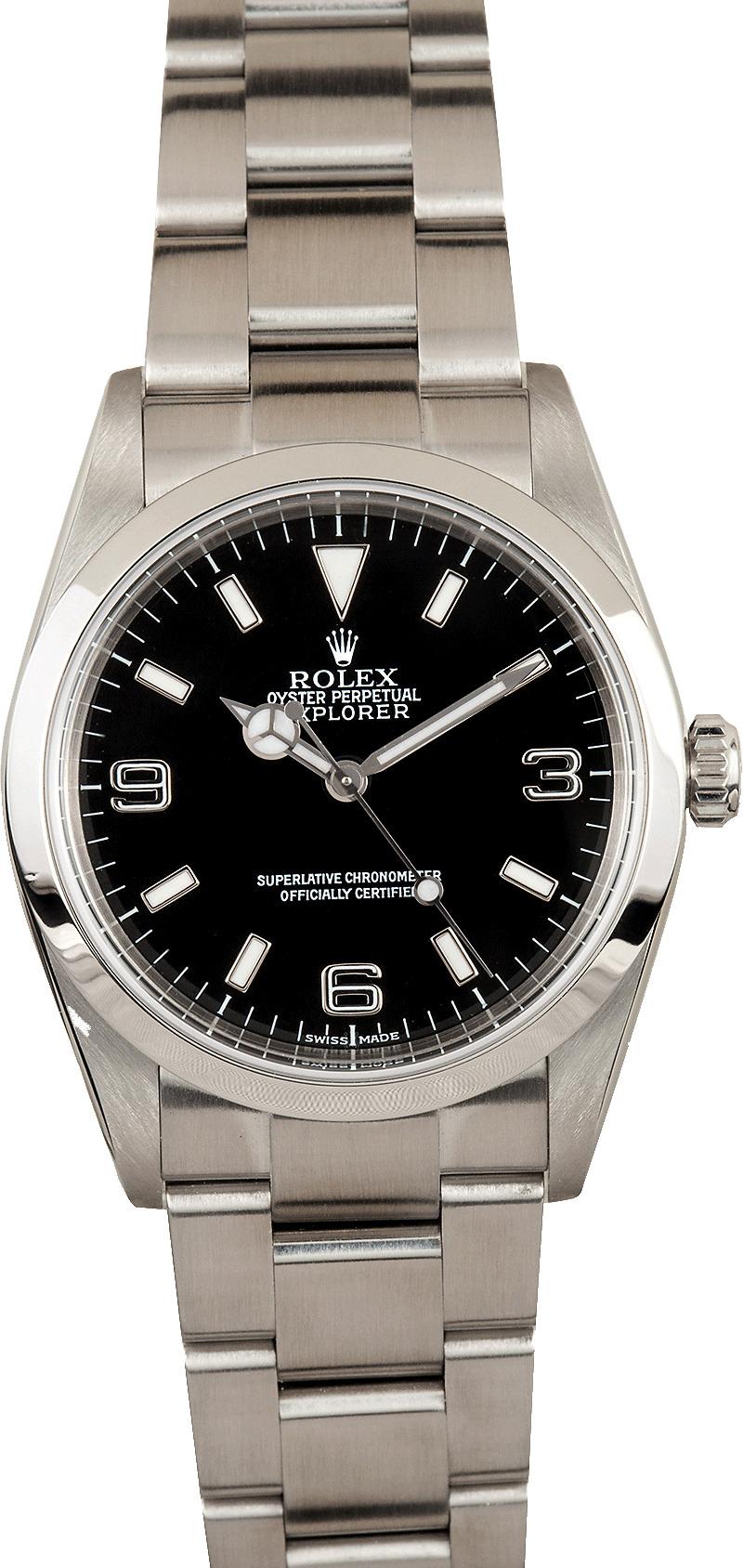 Rolex Explorer 114270 2 - On Sale Now
