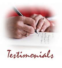 Testimonials (1/2)