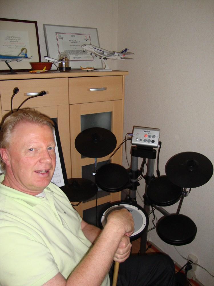 Drummer's Hoek: De Roland HD1 Digitale Drumkit.