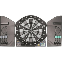 Accudart eX5000 Electronic Dartboard and Cabinet