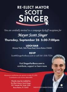 Scott Singer Candidate for Mayor