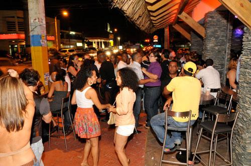 Santo Domingo by night Dominican Republic english