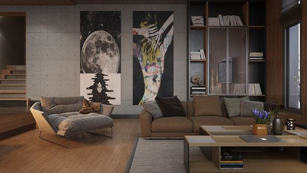 contemporary artwork living room cheap end tables design inspirations for your modern 16