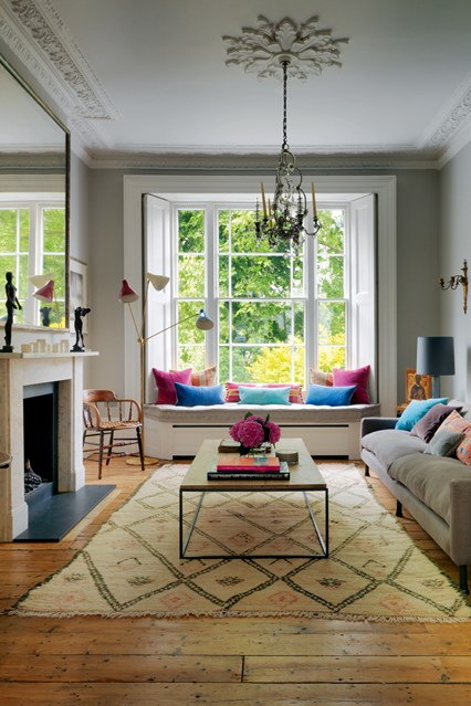 Window Seat Ideas for Living Rooms