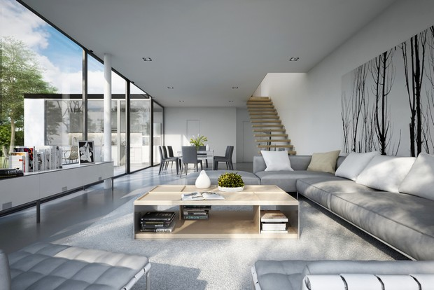 living room themes modern decorations for walls in rooms with elegant and clean lines 5