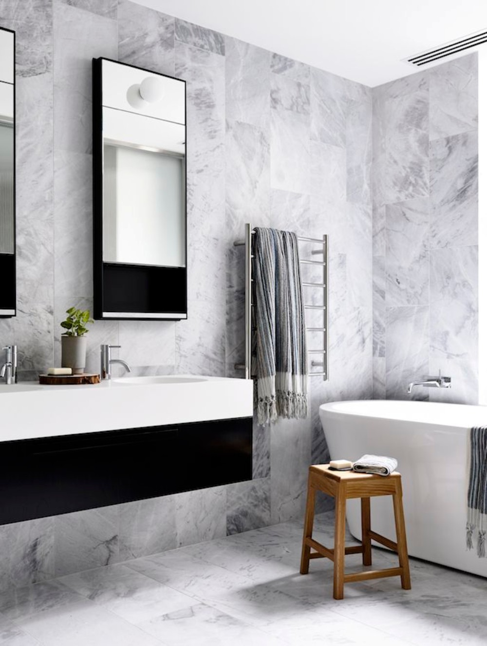 Get Inspired With 25 Black And White Bathroom Design Ideas