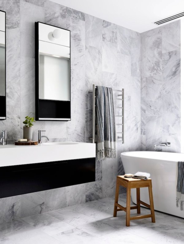 Black White and Grey Bathroom Designs