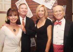 Cheryl  Budd, Steve Budd, Carey O'Donnell and Steve Barry. (Courtesy Janis Bucher).
