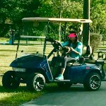 Boca Rudeton Golf Cart