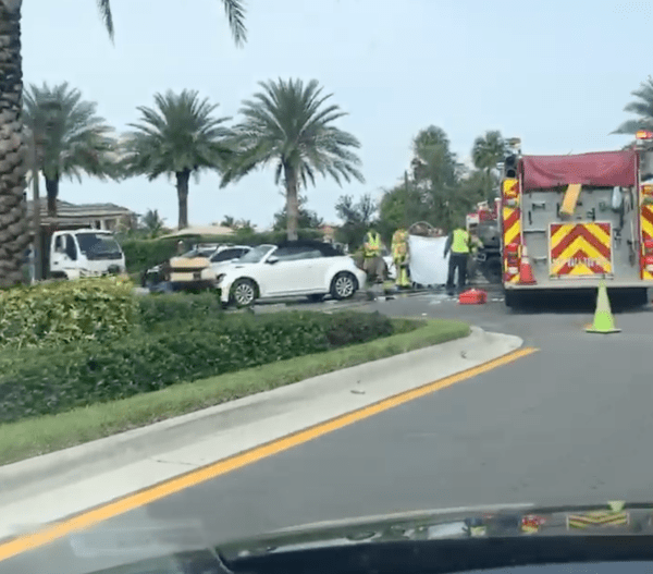 Seven Bridges Golf Cart Crash
