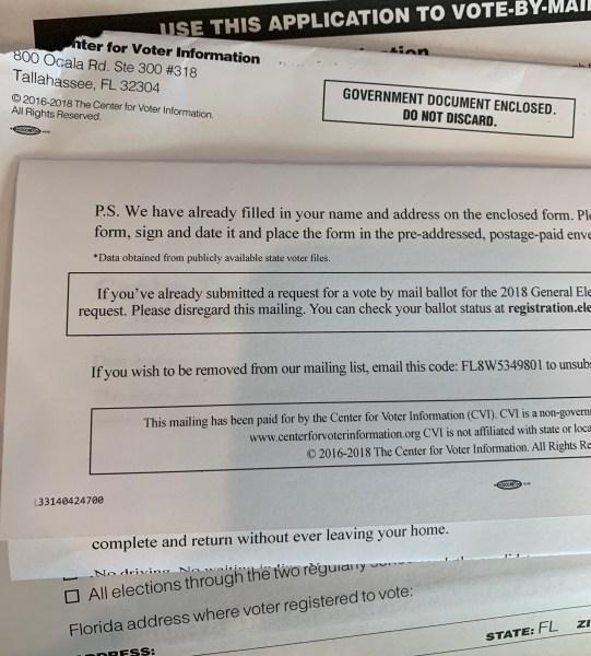 center for voter information