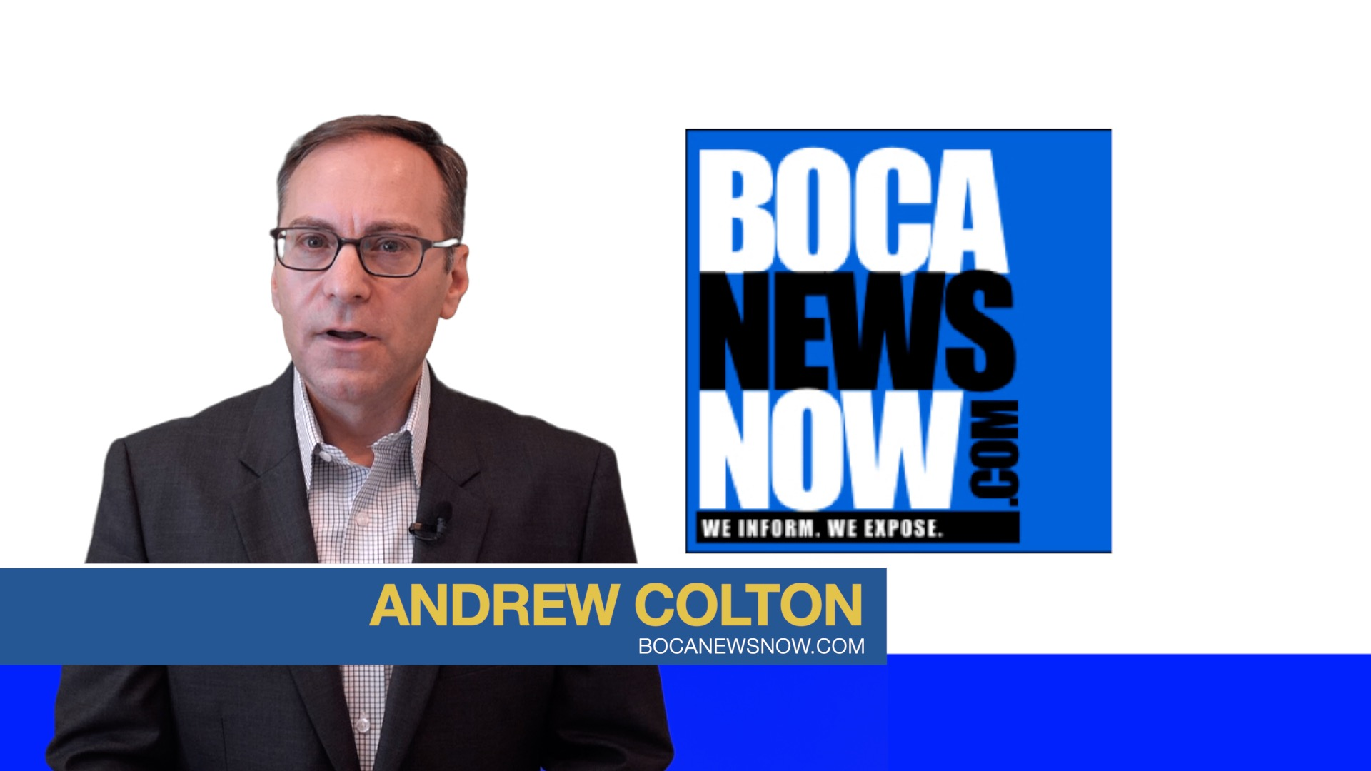 boca news now tv - Andrew Colton
