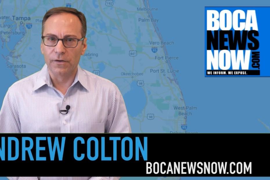 Andrew Colton BocaNewsNow TV coronavirus coverage boca raton delray beach boynton beach