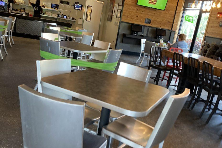 Burger Fi West Delray Beach covid-19