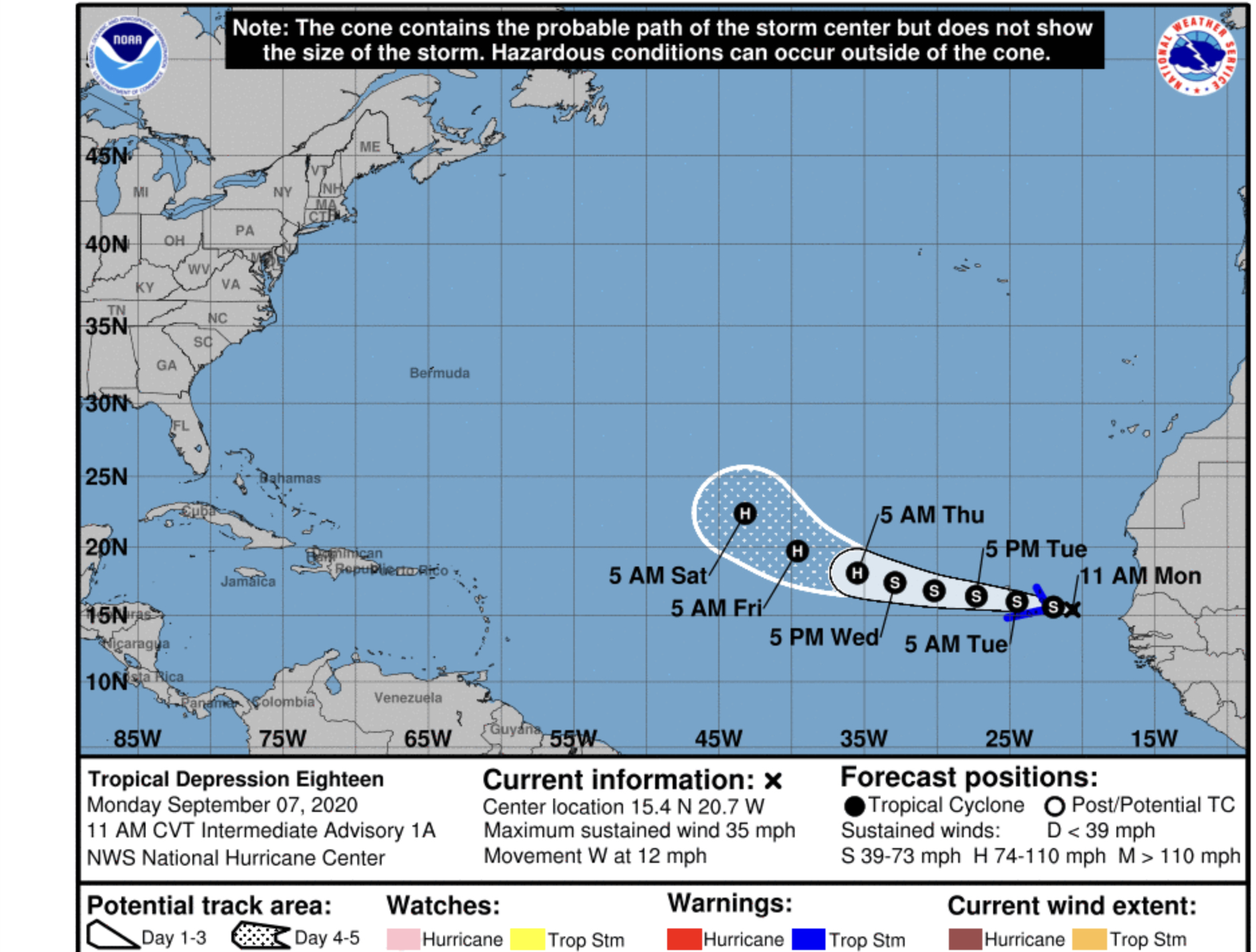 Breaking Tropical Storm Paulette Forms Earliest Forming 16th Storm Ever Bocanewsnow Com