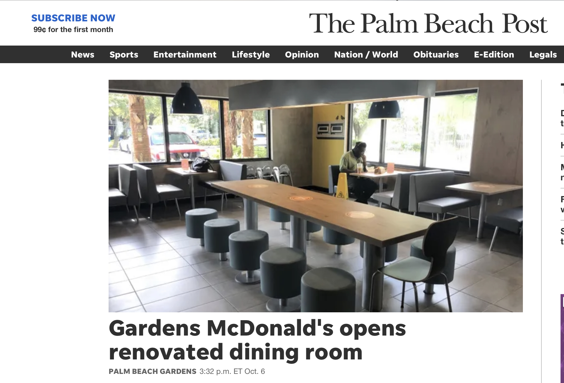 palm beach post mcdonalds