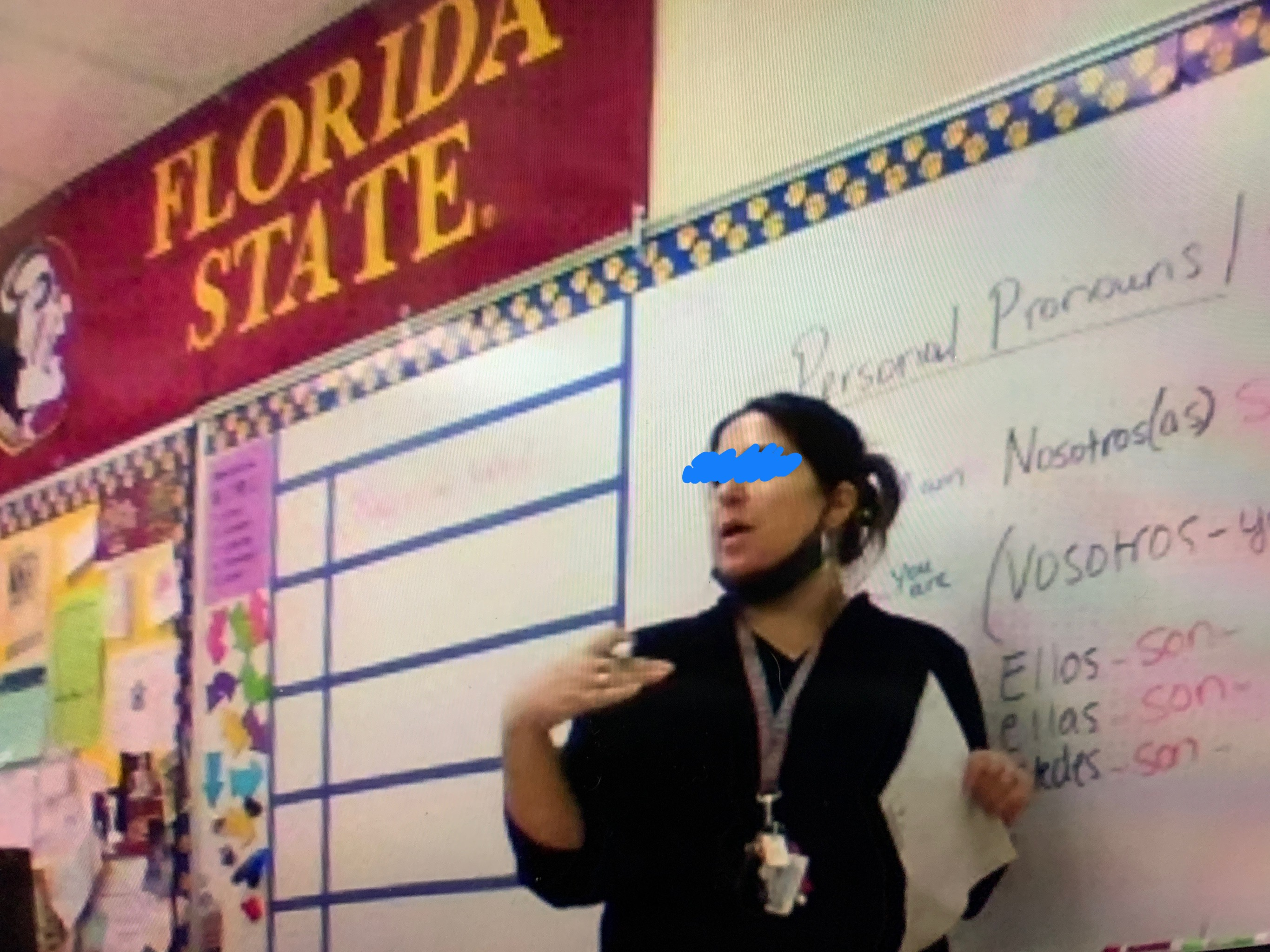teachers no mask palm beach county