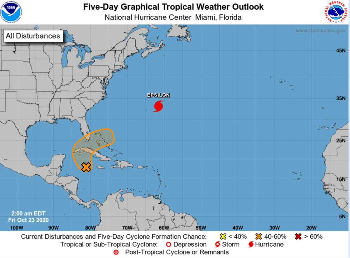 hurricane center october 23 2020