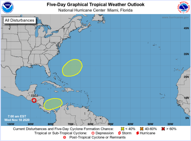 hurricane center November 18