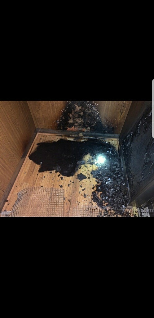 Boca Raton elevator fire