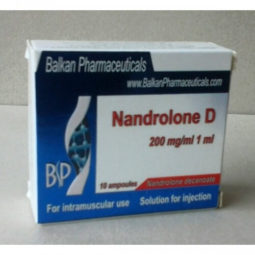 Nandrolone Decanoate 10 Amp (200mg amp) Balkan Pharmaceuticals for BodyBuilding