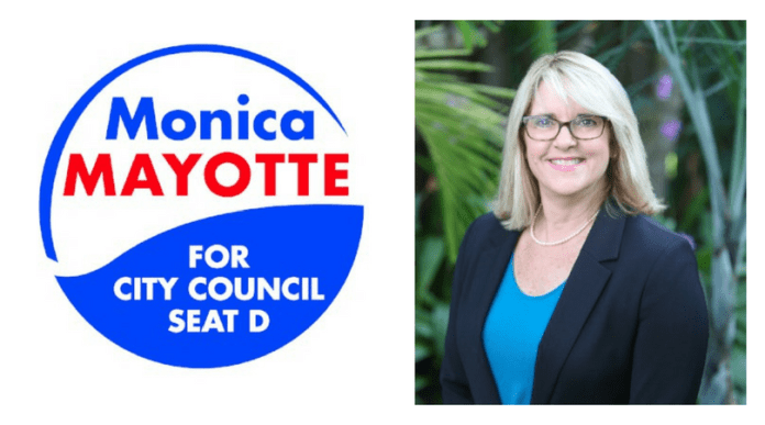 Get Out the Vote….Vote for the Resident Friendly Candidate, Monica Mayotte