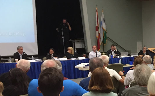 The April 30th Council Process Meeting: Standing Room Only