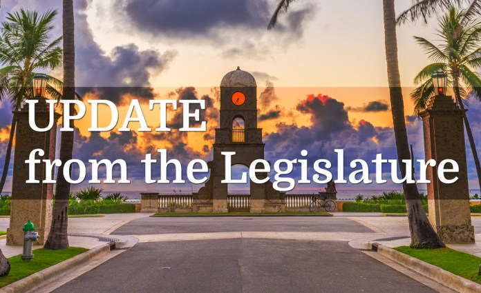 Update From The Legislature with Mike Caruso