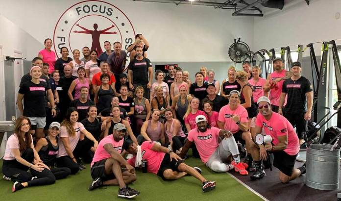 Focus Functional Fitness Gym teams up with the Go Pink Foundation