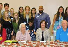 Boca Raton Kiwanis, Key Clubbers, Sponsors, and Guests
