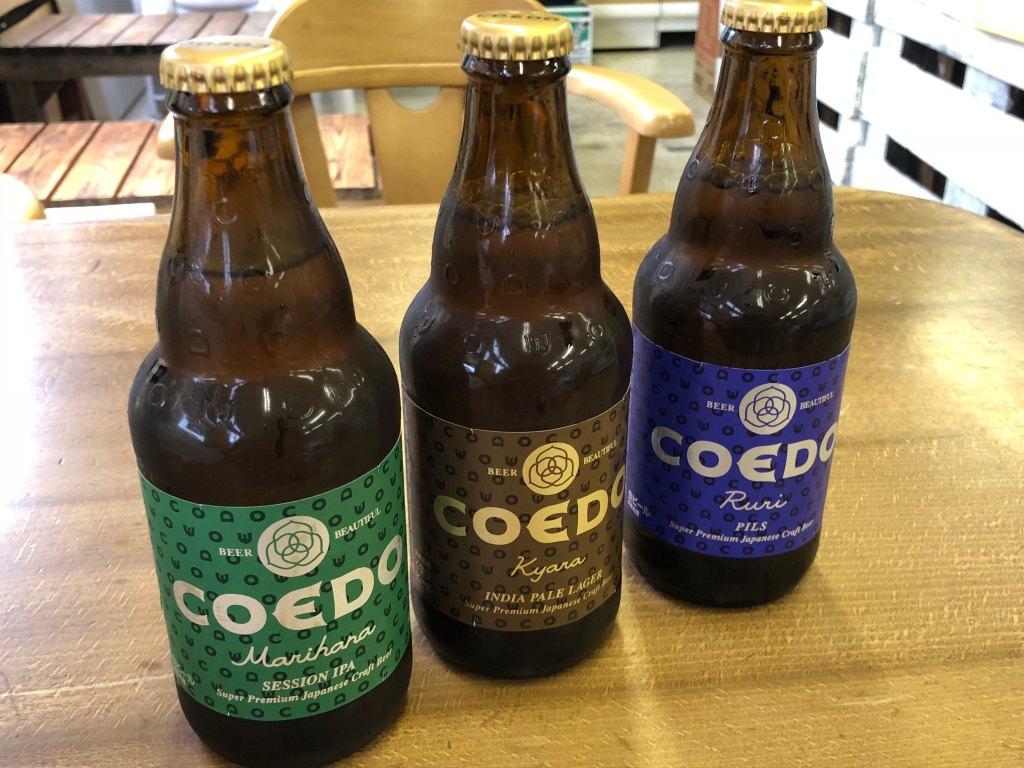 小江戸川越COEDOビール