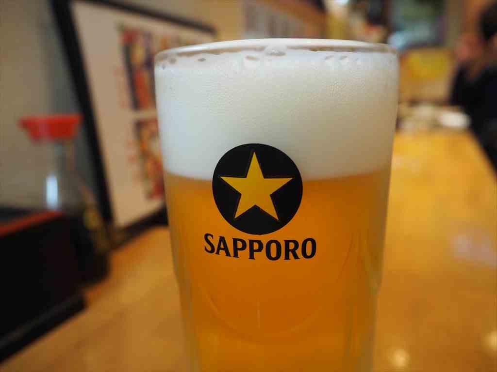 弘明寺海鮮丼居酒屋うおや生ビール