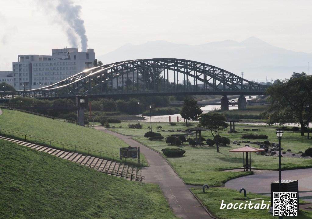 石狩川 旭橋