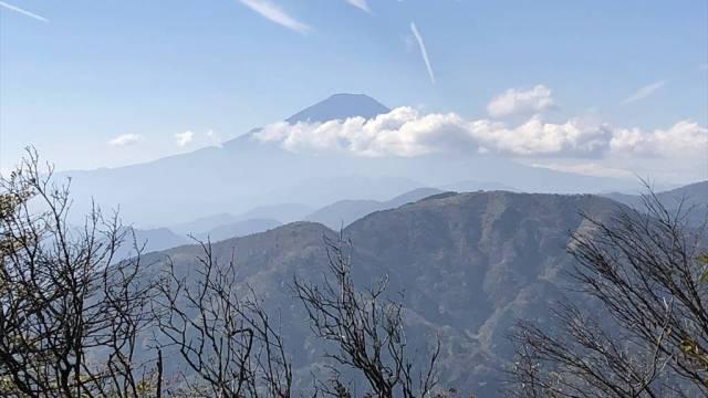 大山登山 富士山