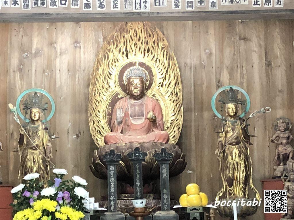 鎌倉扇ガ谷海蔵寺薬師三尊像