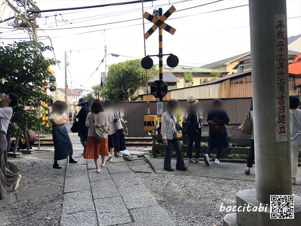 鎌倉御霊神社 江ノ電