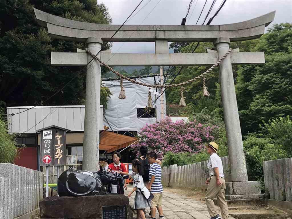 筑波山神社 入口