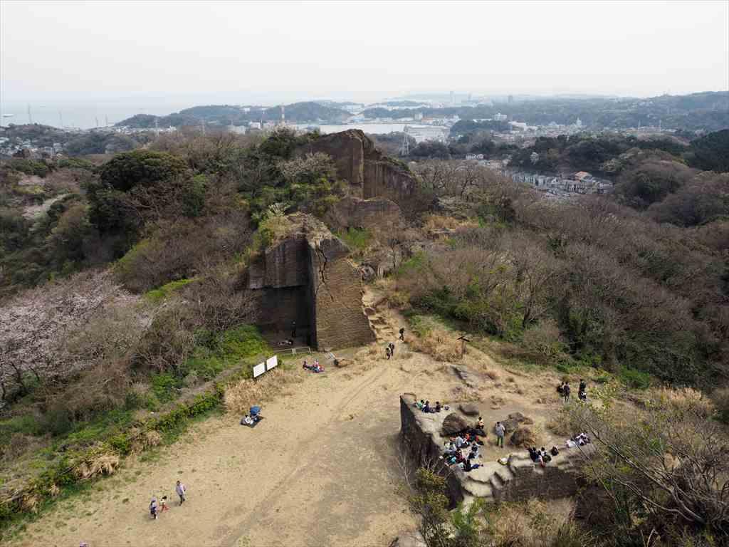 神武寺鷹取山ハイキングコース 鷹取山展望台から