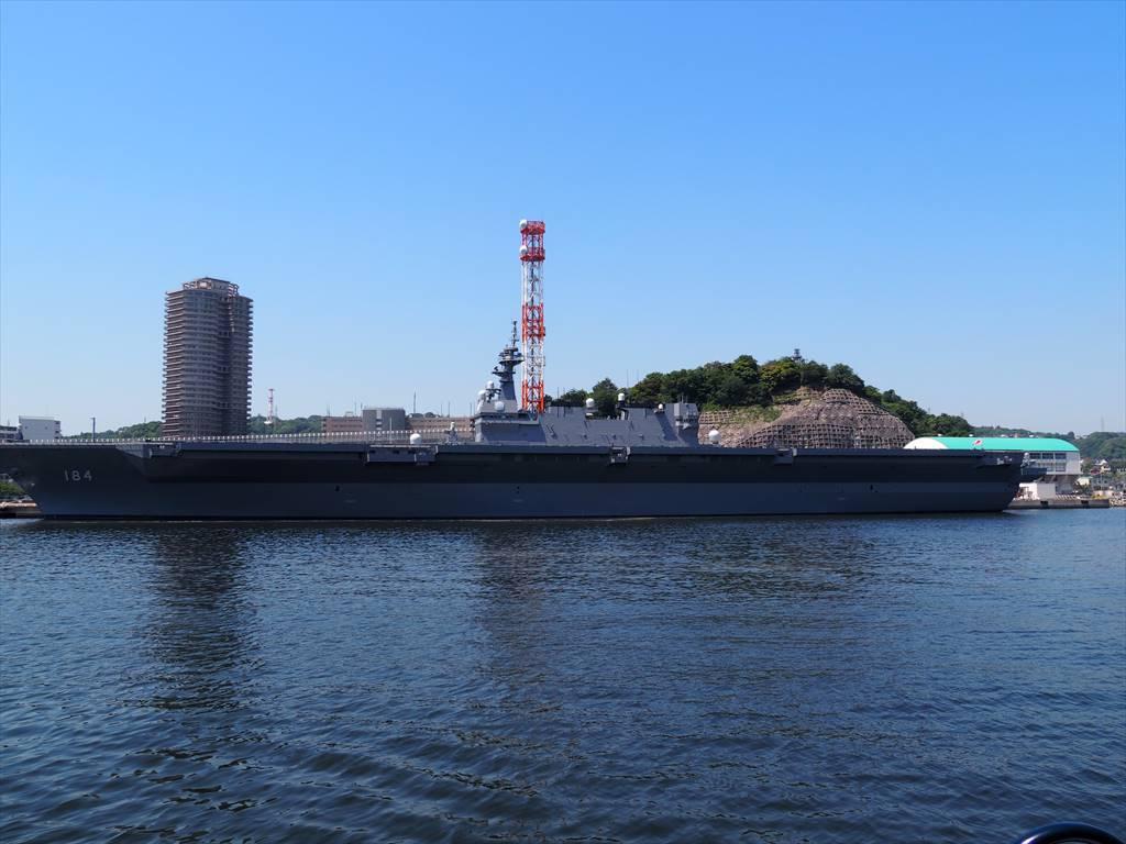 横須賀軍港めぐり 護衛艦かが
